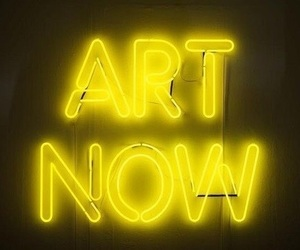 yellow, neon, and art image