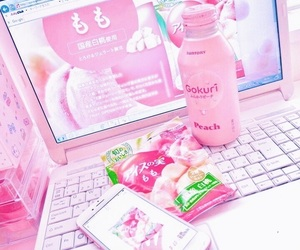 pink, pastel, and theme image