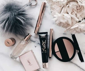 makeup, YSL, and beauty image