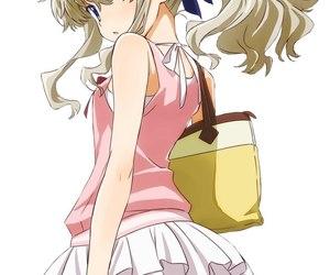 anime, art, and charlotte image