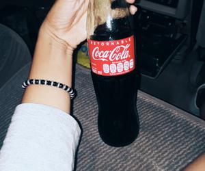 coca cola, soda, and drink image