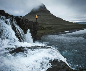 iceland, mountain, and nature image