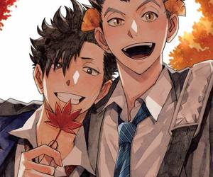 haikyuu, fukurodani, and nekoma image
