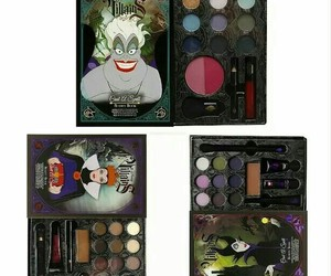 black, cosmetic, and disney image