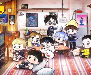 exo, fanart, and exol image