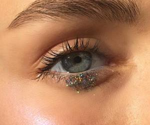 eyes, eye, and glitter image