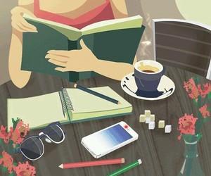 gif, book, and study image