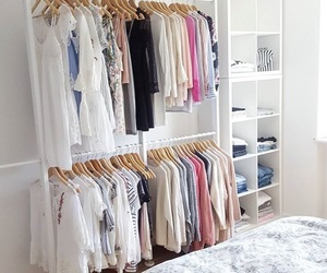 bedroom, closet, and house image