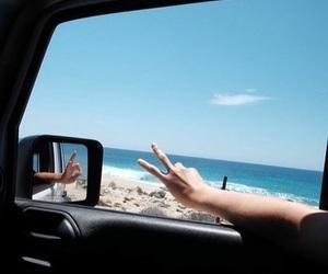 beautiful day, enjoy life, and ocean girl image