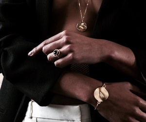 classy, fashion, and jewellery image