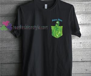 alien, rick an morty shirt, and new rick and morty shirts image