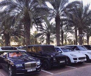 cars, Dubai, and luxury image