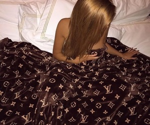 luxury, Louis Vuitton, and blonde image