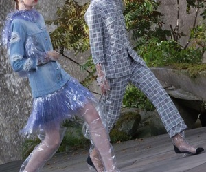 chanel, pfw, and chanel2018ss image