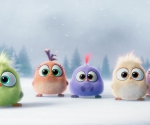 babys, birds, and angry birds image