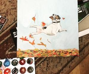 art, autumn, and happy image