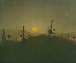 19th century, night, and art image