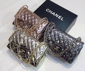 bag, bags, and chanel image