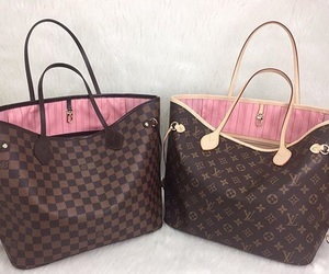 bags, fashion, and Louis Vuitton image