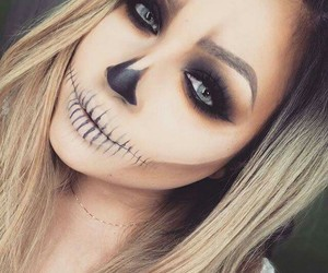 Halloween, makeup, and hair image