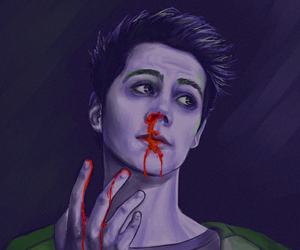 teen wolf, stiles, and the maze runner image