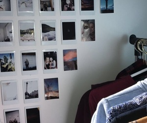 bedroom, instax, and teen image