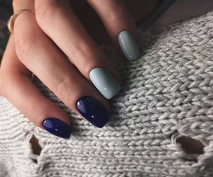 girl, nails, and manicure image