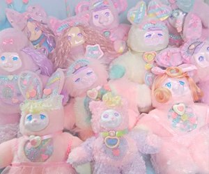 baby, pastel, and pink image
