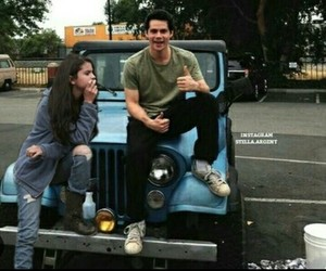 selena gomez and dylan o'brien image