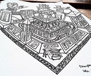 art, batik, and indonesia image