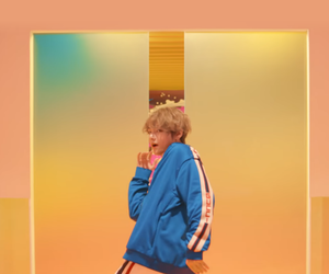 colours, jin, and taehyung image