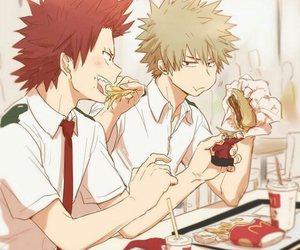 boku no hero academia, bakugou, and boy image