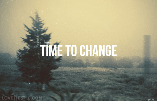 change and time image