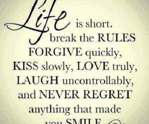 forgive, kiss, and quote image
