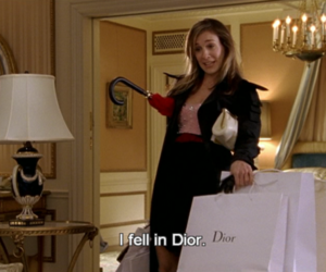 dior, sex and the city, and Carrie Bradshaw image