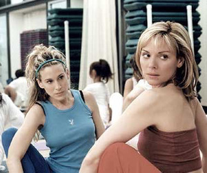 Carrie Bradshaw, samantha jones, and friends image