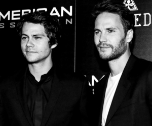 dylan o'brien, edit, and taylor kitsch image