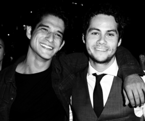 actors, tyler posey, and dylan o'brien image