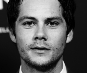 black and white, dylan o'brien, and edit image