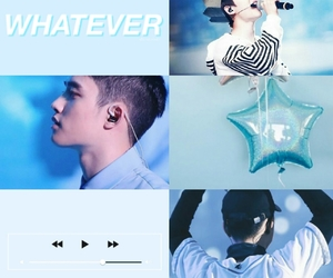 blue, d.o, and cute image