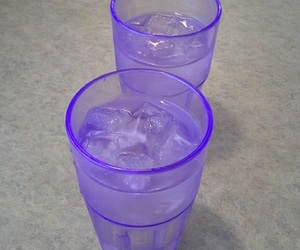 purple, aesthetic, and glass image