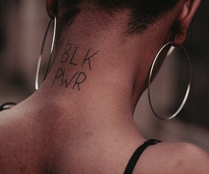 black power and melanin image