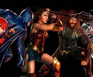 aquaman, batman, and Ben Affleck image