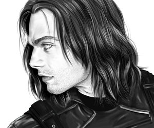 art, bucky, and drawing image