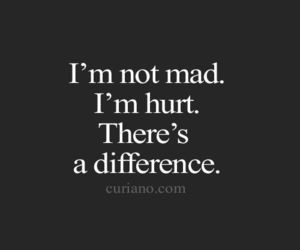 quotes, hurt, and mad image