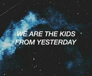 quotes, grunge, and blue image