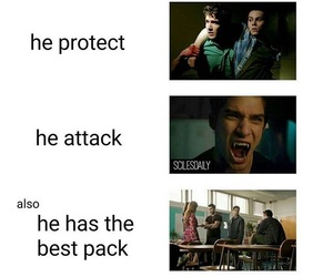 actor, producer, and teen wolf image