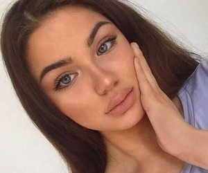 girl, goals, and beauty image