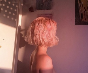 aesthetic, blond, and grunge image