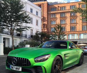 green, luxury, and mercedes image